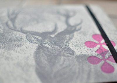 Cuadernos Animales Tintanegra Letterpress